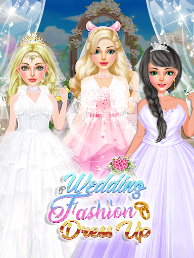 Fashion Wedding Dress Up Designer: Girls Games  screenshots 6