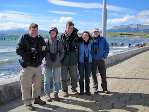 Photo: Day 6 - 11/19/2011 - Puerto Natales, town that serves as a  gateway to Torres del Paine National Park (L-R: Wilfried, Deanna, Santiago (guide), Heather, Randy)