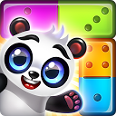 Pandamino -  A Color Slide Puzzle Adventure