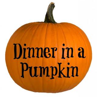Dinner in a Pumpkin.