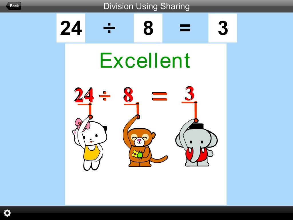 Division Using Sharing Lite- screenshot