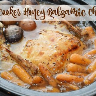 Slow Cooker Honey Balsamic Chicken