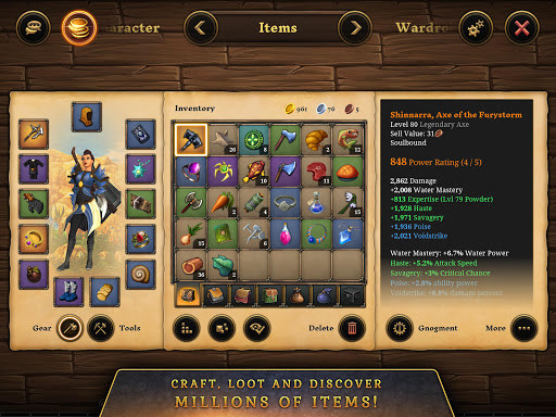 3D MMO Villagers & Heroes 4.40.4 (r53268) screenshots 20