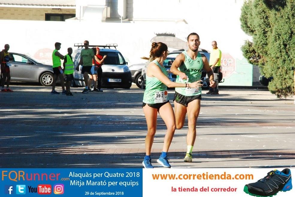 Media Maratón por equipos Alaquàs 2018