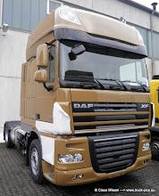 Photo: Nagelneuer DAF 105 XF          -------> www.truck-pics.eu
