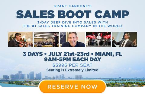 3-day sales bootcamp