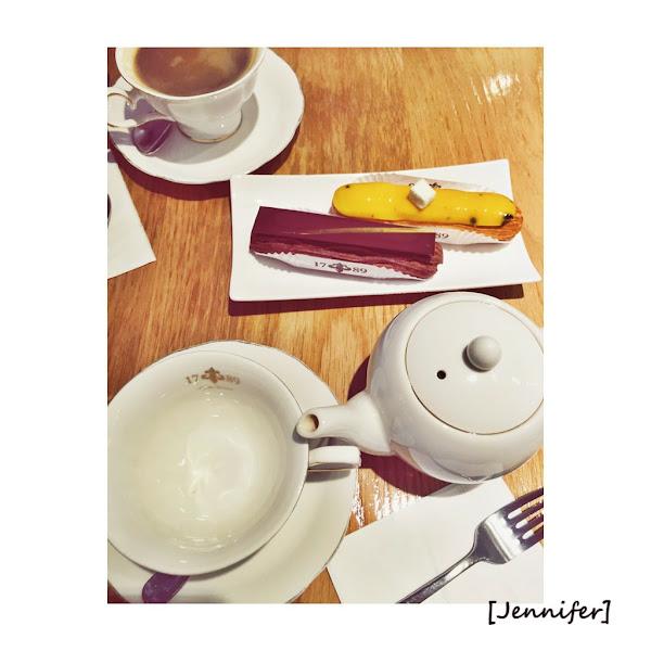 1789|三訪~好看好吃的手指泡芙|女生一定喜歡的浪漫下午茶店♥Jennifer養雞雞美食任務