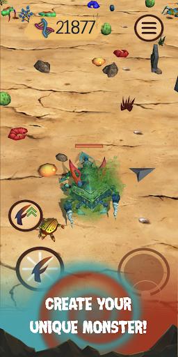 Spore Monsters.io 3D Wasteland Nomads Crab Turmoil screenshot 4