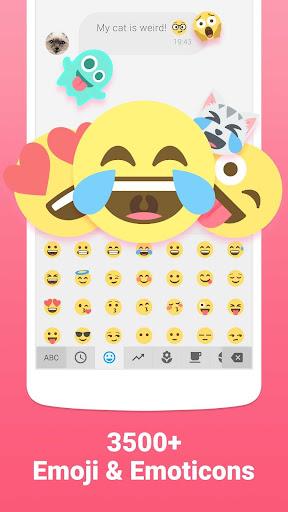 Facemoji Emoji Keyboard - Cute Emoji,Theme,Sticker 2.1.4.1 screenshots 1