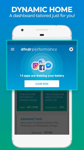 dfndr performance: clean, boost, speed & space 2.8.6 screenshots 8