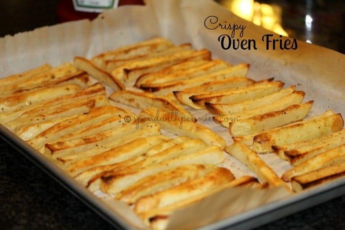 Crispy Oven Fries (with 2 Secret Tips to Make Them Crispy!) Recipe