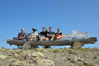 Photo: Meine Mitreisenden: ein gutes Team. Vielen Dank an alle