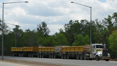 Photo: Road train with 22 axles!!!