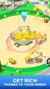 Mining Inc MOD APK 1.6.3 [Unlimited Money & Gold] 1