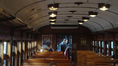 Photo: Interior coche Tren de la Fresa.