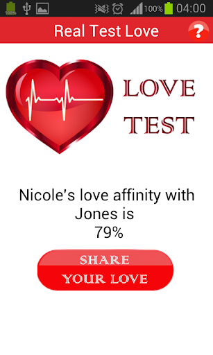 玩免費遊戲APP 下載Real Love Test app不用錢 硬是要APP