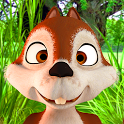 Talking James Squirrel - Virtual Pet icon