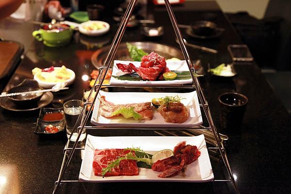 台南美食-東大門韓國烤肉料理館~台南首家大型韓國料理餐廳|卡基馬雙人餐