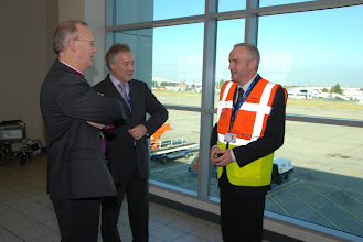 Photo: Meeting the Airport's Operations Manager