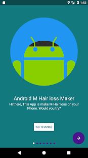 M loss Hair Maker(iPhoneX fake header) - náhled