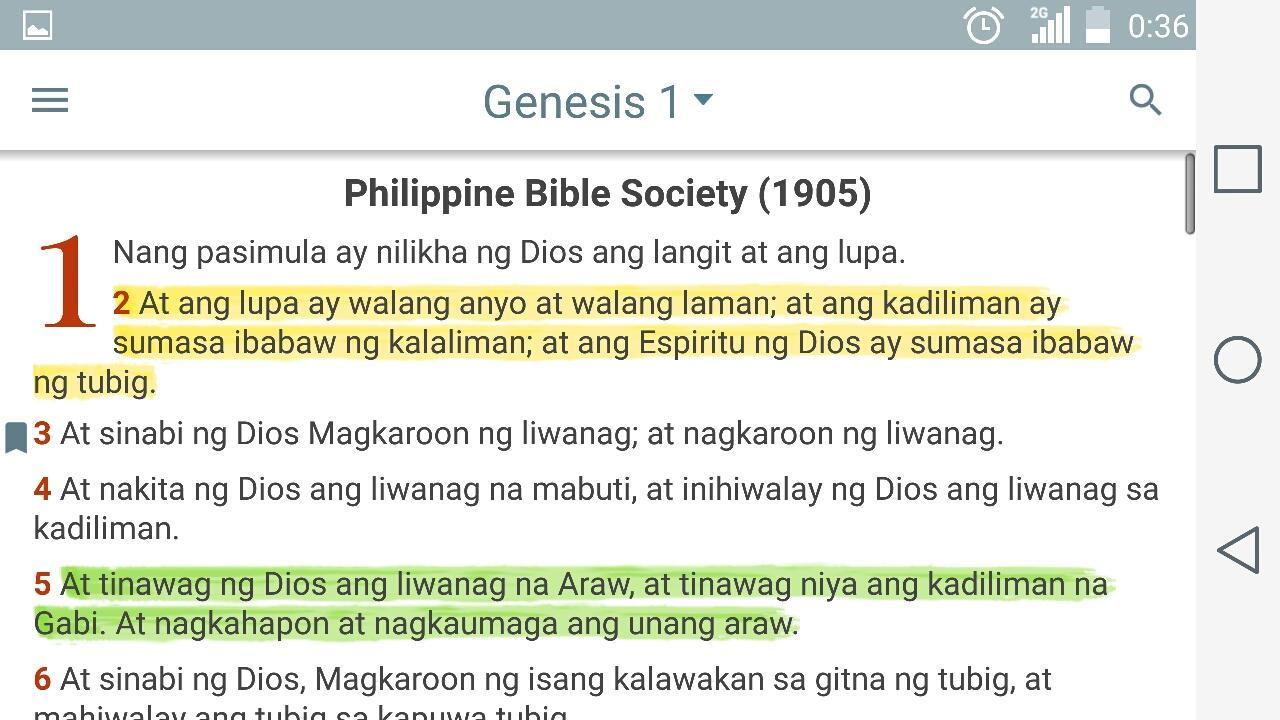 Ang Dating Biblia para Android - Descargar