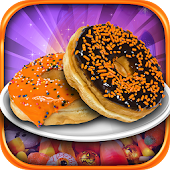 Halloween Donut Maker Cook & Make Candy Kids Game
