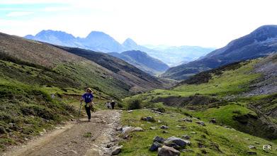 Photo: Una mirada atras del valle, al fondo Torrestio
