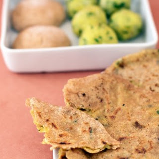 Aloo Paratha, Potato-Filled Flatbread