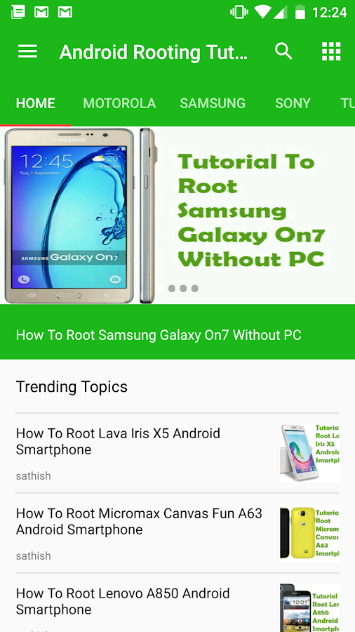 Rooting Tutorials For Android- screenshot