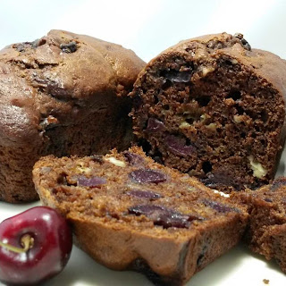 Black Forest Banana Quick Bread