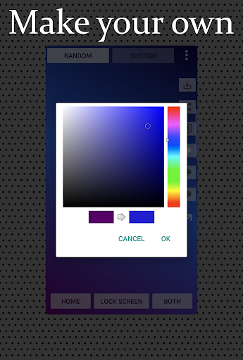Screenshot for dy/dx Pro - HD Gradient Wallpapers in United States Play Store