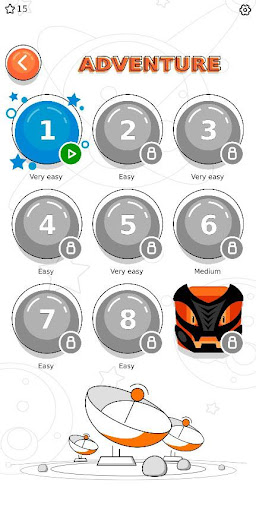 Sudoku Space Adventure - Puzzle Game android2mod screenshots 3