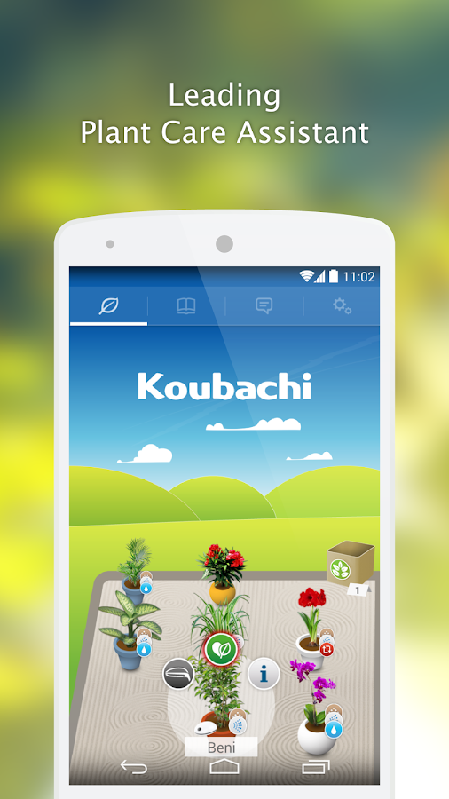 Koubachi- screenshot