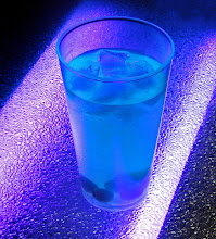 """Photo: New Drink Sensation - The """"Carbon Arc"""" (actually a lighting test shot, but it tasted fine)"""