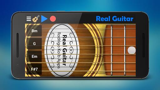 Real Guitar Screenshot