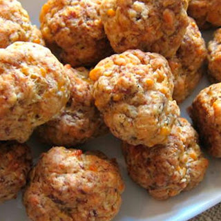 3-Cheese Sausage Balls Recipe