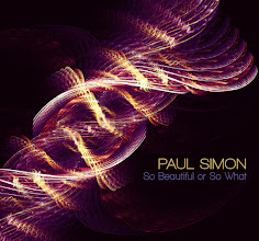 Photo: image made by the Flame Algorithm run by a 3rd party on Paul Simon's album cover.