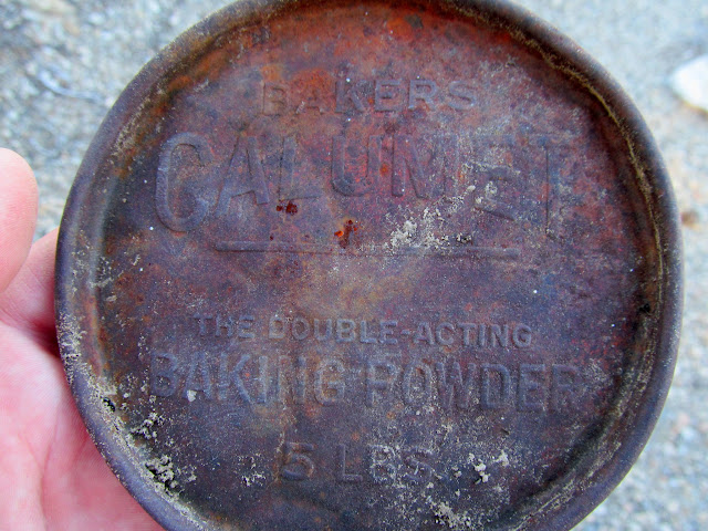 Calumet baking powder lid