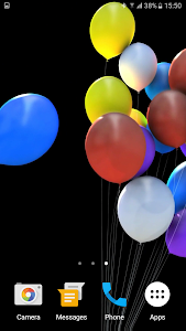 Balloons 3D Live Wallpaper screenshot 2