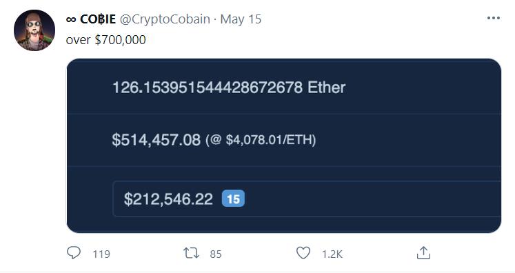 Crypto'nun 'Robin Hood'u' Cobie, Twitch Canlı Yayınlarında Dünyanın Her Yerinden İnsanlara Yardım Etmek İçin Milyonları Artırdı 17