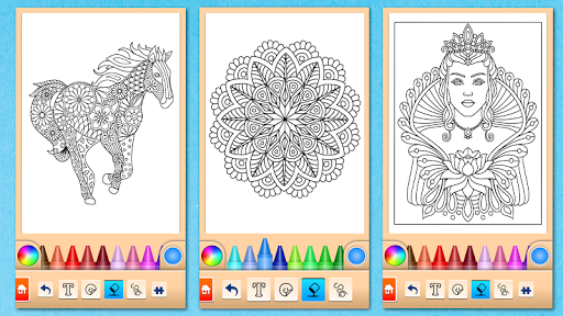 Mandala Coloring Pages filehippodl screenshot 7
