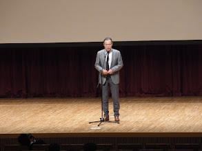 Photo: 山崎長郎会長からのお言葉