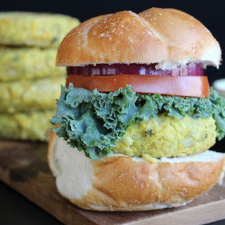 Spicy Potato and Beans Burger [Vegan, Gluten-Free]