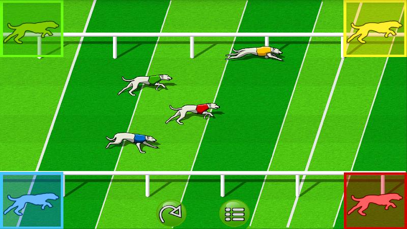 Скриншот Dog Race Game