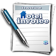 Hotel Invoice: Quotations invoices for hotelkeeper icon