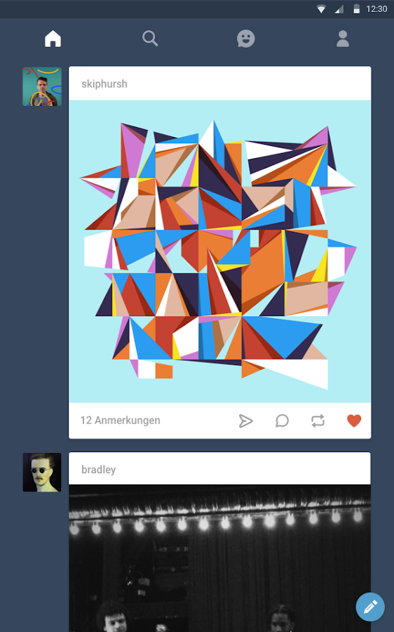 Tumblr – Screenshot