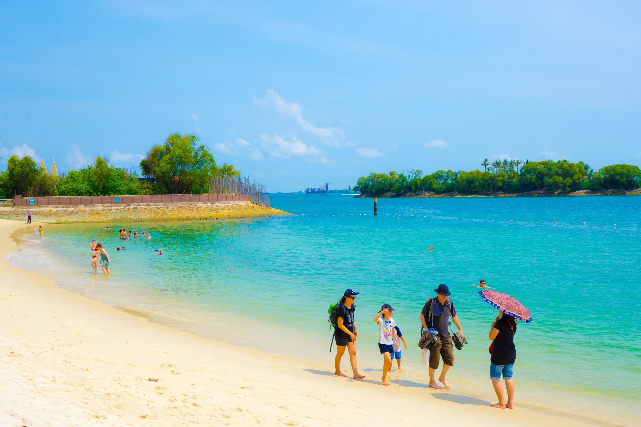 シンガポール セントーサ島 シロソ・ビーチ2