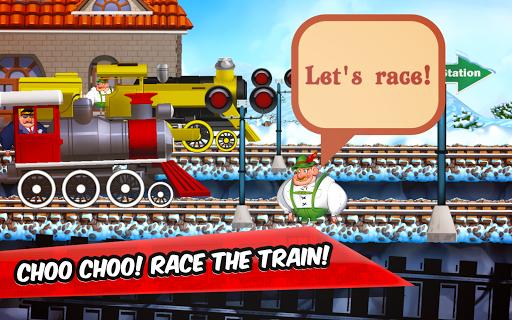Fun Kids Train Racing Games  screenshots 14