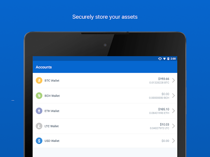 Coinbase - Buy Bitcoin & more. Secure Wallet. Screenshot