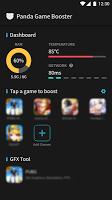 screenshot of Panda Game Booster & GFX Tool for Battleground